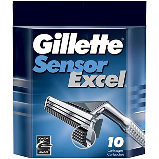 Gillette Sensor Excel - 50 Count for $53.99 + Free Shipping