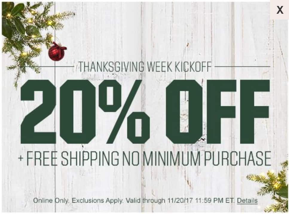 Dick's Sporting Goods: 20% Off Your Total Purchase (Online ...