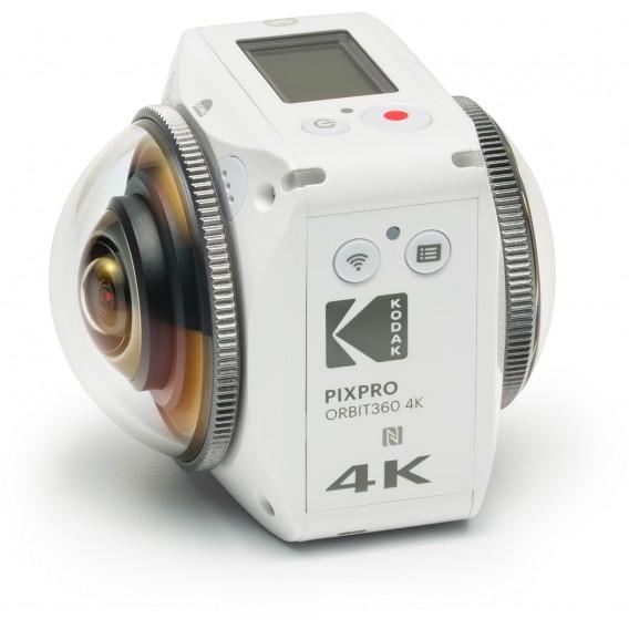 KODAK PIXPRO ORBIT360 4K VR Camera Satellite Pack for $449.99