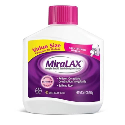 20% Off MiraLAX 45 Dose w/ S&S- $17.98