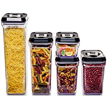 Royal Air-Tight Food Storage Container Set - 5-Piece Set for $19.45 + FS w/ Prime