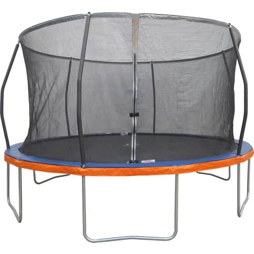 Jump Power 14' Round Trampoline with Safety Enclosure Net for $199.98 + Free Store Pickup