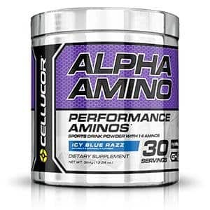 2x Cellucor Alpha Amino Performance BCAAs, Lemon Lime (30 Servings) for $24.99 + Free Shipping