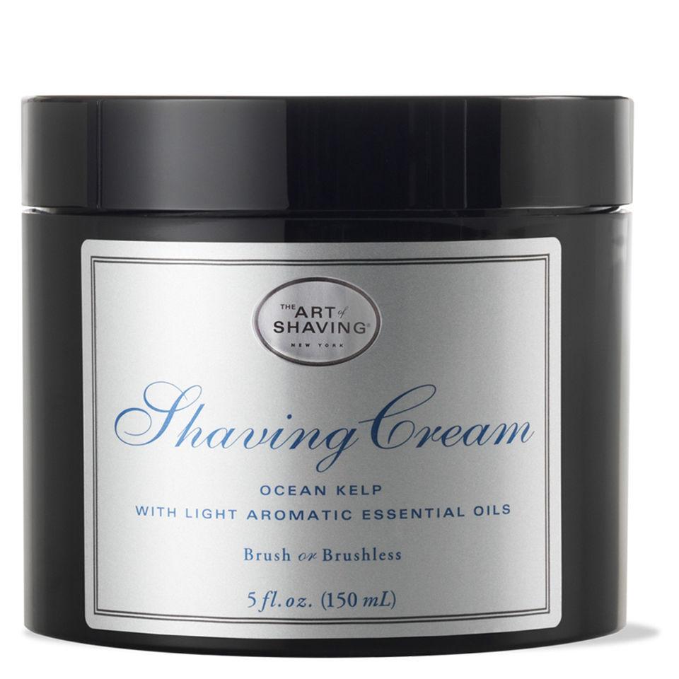 The Art Of Shaving Shaving Cream, Ocean Kelp, 5 Oz for $11.99 + Free Shipping