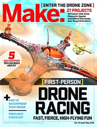 1-Year Subscription to Make: Magazine for $14.95