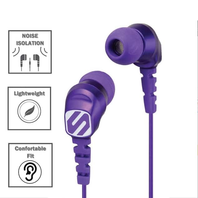 Scosche Noise Isolation Earbuds for $3.99 or 2-pack for $5.99 + Free Shipping