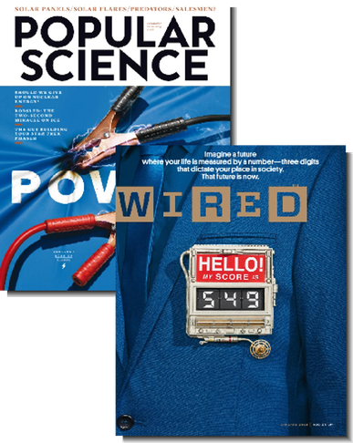 1-Year Wired & Popular Science bundle for $7.99