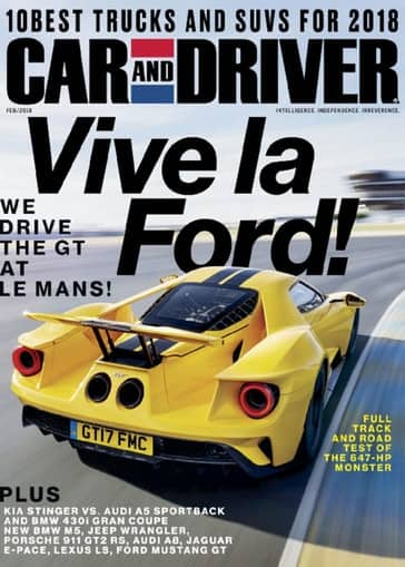 Car & Driver Magazine: 4 Years for $12