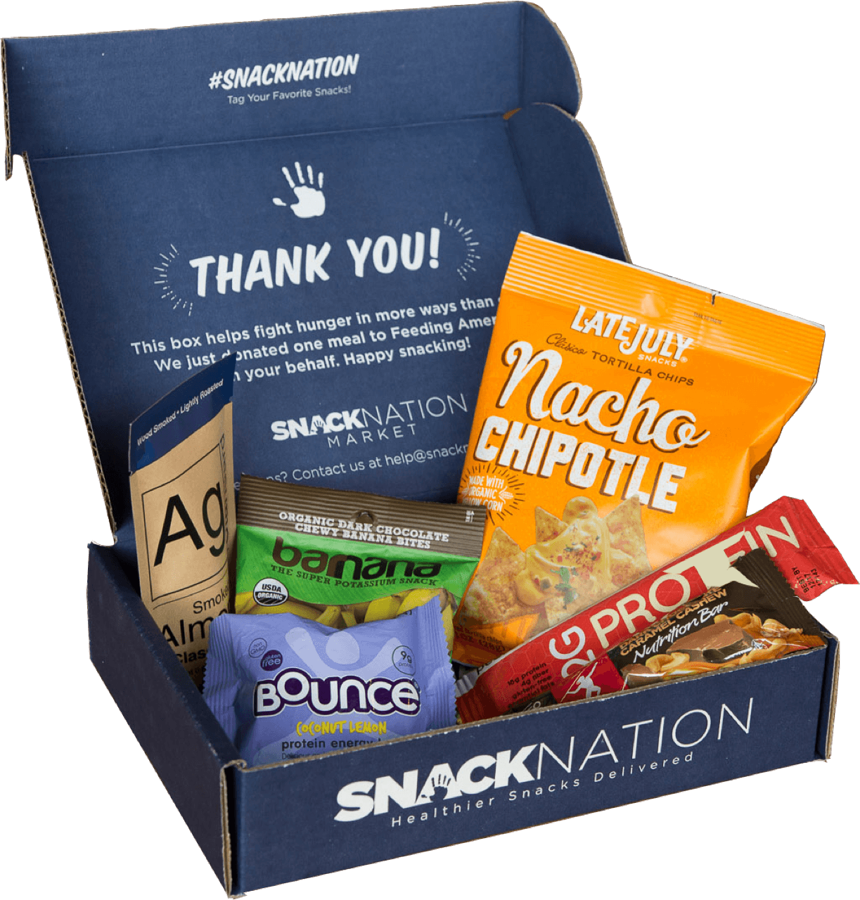 SnackNation: Get 50% off every month (6 snack subscription) - $4.99/month
