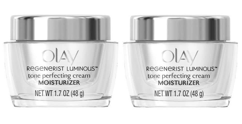 OLAY Regenerist Luminous Tone Perfecting Cream, 1.7 oz (Pack of 2) for $18.99 + Free Shipping