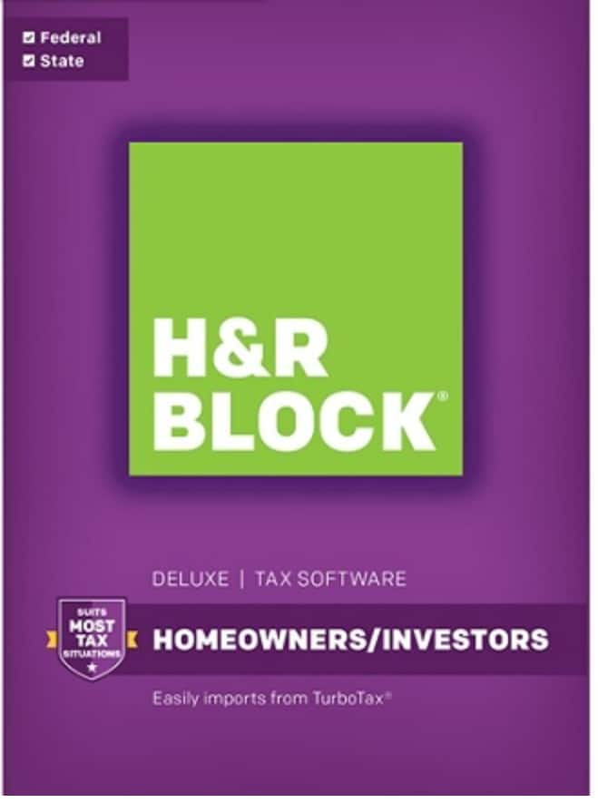 Up To $20 Off H&R Block Online Products