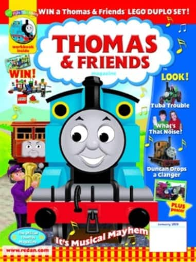 Thomas & Friends- $13.99 for 1 year (6 issues)