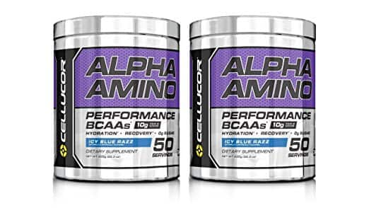 2x Cellucor Alpha Amino Performance BCAA 50 Servings (100 servings total) for $34.99 + Free Shipping