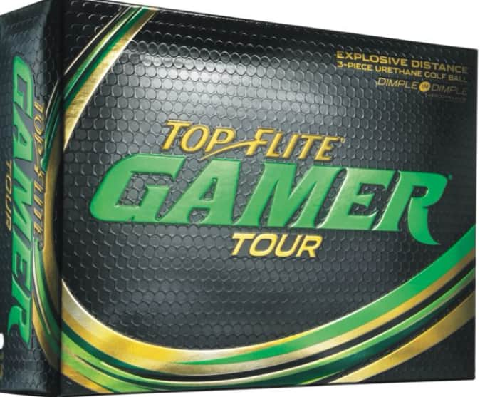 3 Dozen Top Flite Gamer Tour Golf Balls for $40