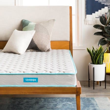"Up To 35% off Linenspa 6"" Innerspring Mattress-in-a-Box from $58.99"