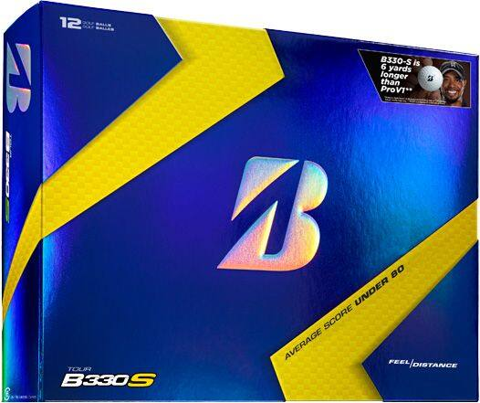 2-Dozen TOUR B330S Golf Balls - Limited Edition B Mark for $60 + Free Shipping