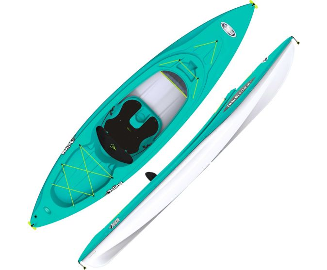 Dick's Sporting Goods Boat Sale: Perception Swifty Deluxe 95 Kayak for $249.98 & More + Free Store Pickup