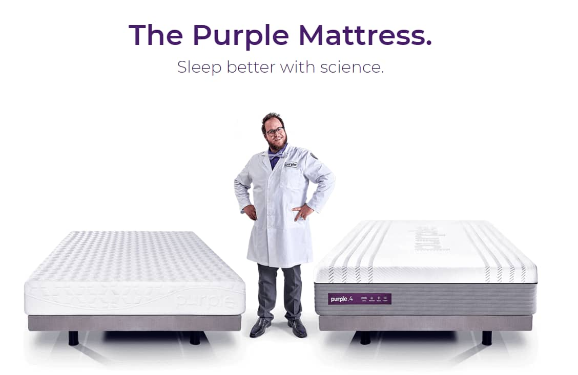 Purple: Buy any Purple Mattress and Receive a Free Purple Sheet and a Free Purple Simply Seat Cushion