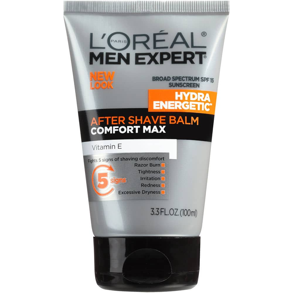 L'Oréal Paris Men's Expert Hydra Energetic After Shave Balm, 3.3 fl. oz. for $5.99 + Free Shipping