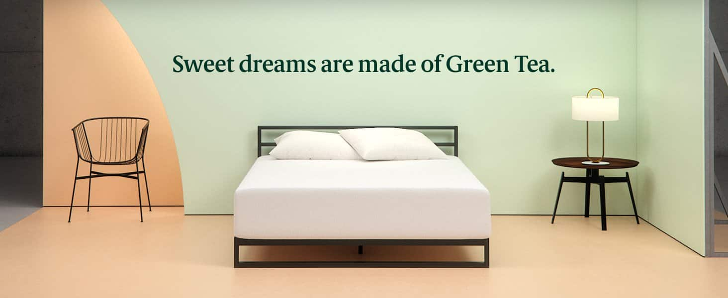 Zinus Memory Foam 8 Inch Green Tea Mattress, Twin for $99.99