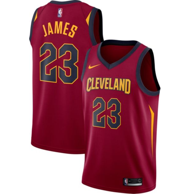 low priced 25f36 8c8e0 Up to 50% Off Cavs Gear: Lebron James Jersey for $55 & More ...