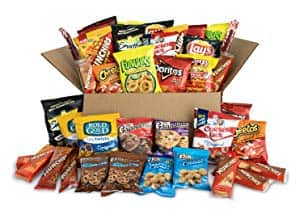 Ultimate Snack Care Package, Variety Assortment of Frito-Lay Chips, Cookies, Crackers & More, 40 Count for $15.99