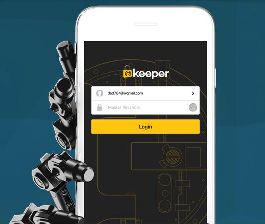 Keeper Security: $17.99/yr (40% Off)