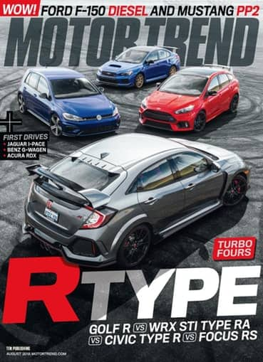 4-Years of Motor Trend Magazine for $12