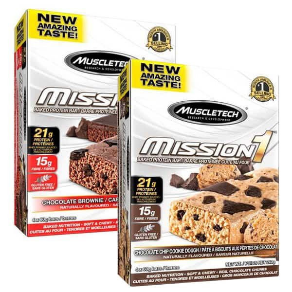 40 Mission1 Bars For $19.99 + Shipping