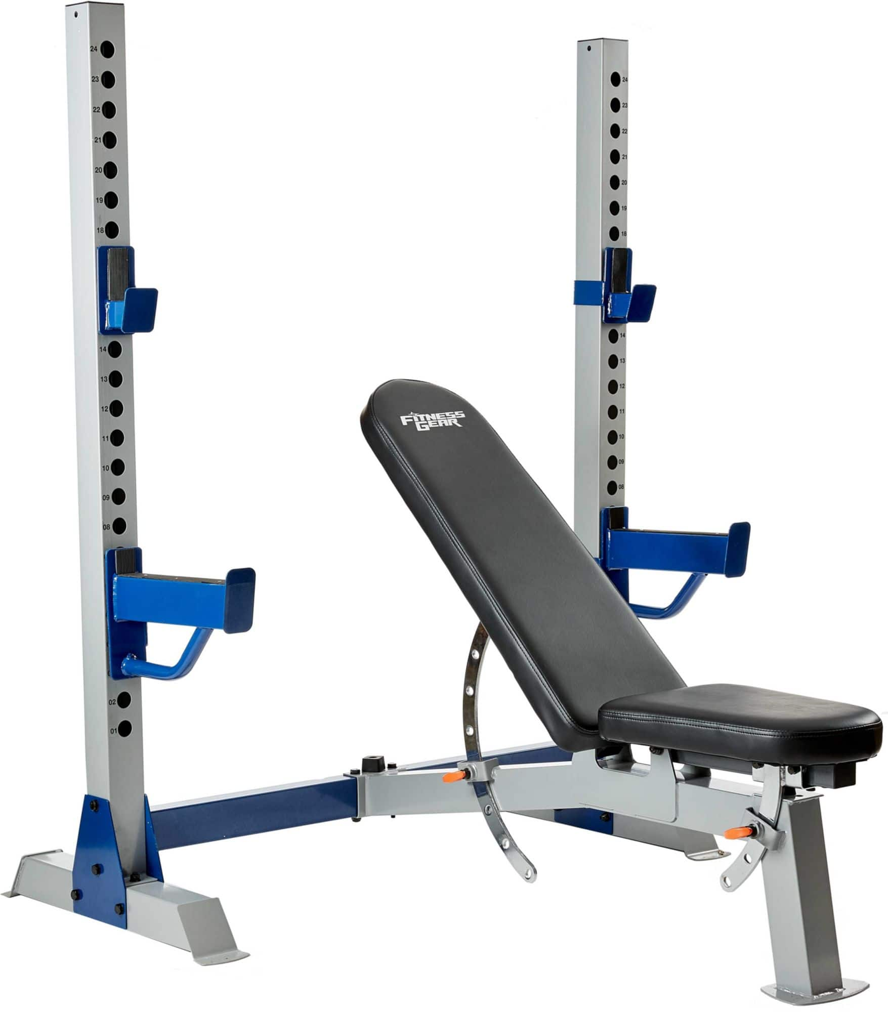 Fitness Gear Pro Olympic Weight Bench For 149 99 Free