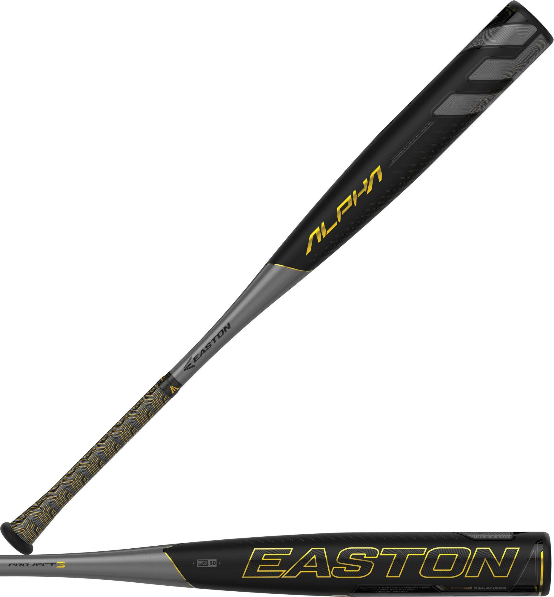 Dick's Sporting Goods: Up to 40% Off Closeout Bats- Easton Project 3 Alpha BBCOR Bat 2019 for $159.99 & More