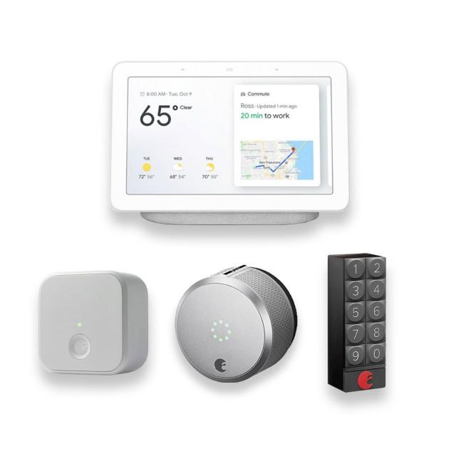 August Smart Lock Pro + Connect + free Keypad + Google Nest