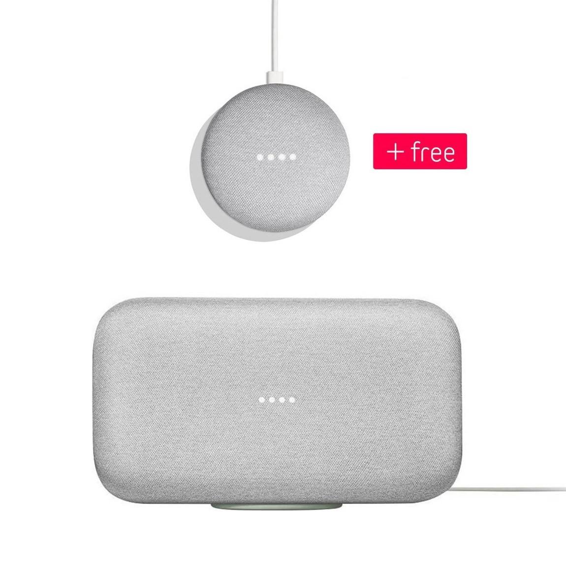 Google Home Max + Google Home Mini for $199 & More
