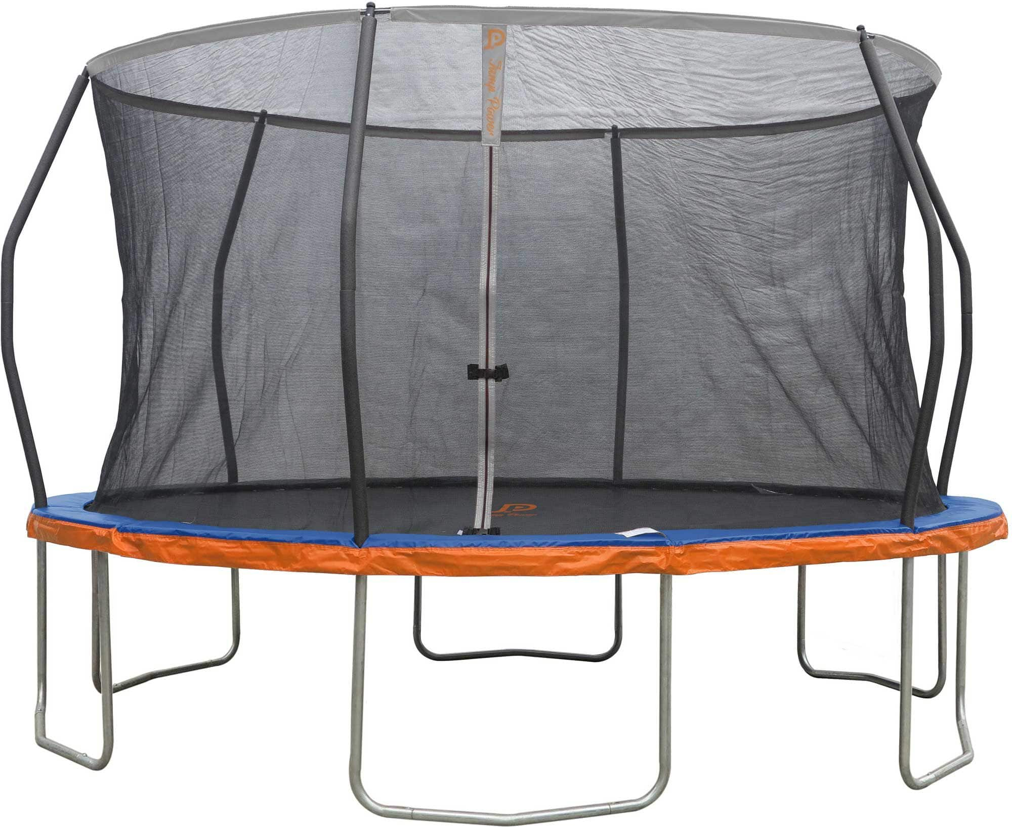 Jump Power 14' Round Trampoline with Safety Enclosure Net for $179.98 $1789.98