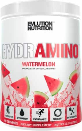 Buy 1 Get 1 Free EVLUTION NUTRITION HYDRAMINO Electrolytes + Amino Acids (60 servings) for $29.99