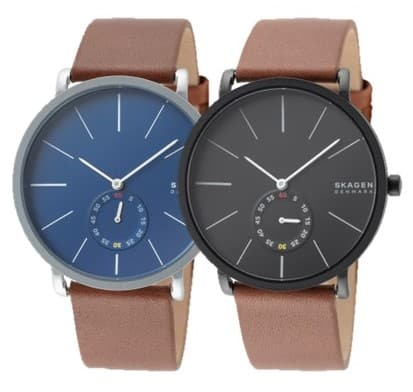 Skagen Hagen Men's Watch (Black or Blue Dial)