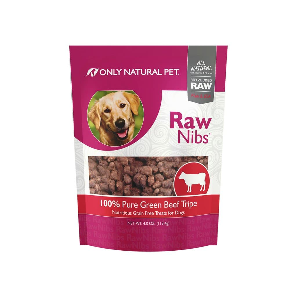 Only Natural Pet Rawnibs Freeze Dried Green Tripe Dog Treats for $7 + Free Shipping