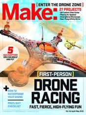 Make: Magazine (DIY Projects, How-To's, Electronics) $13.95/yr