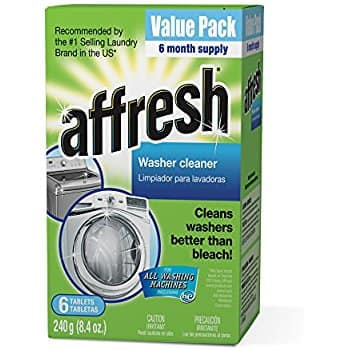 6-Ct Affresh Washer Machine Cleaner Tablets (6 Month Supply) $5.95 w/ S&S + Free S&H