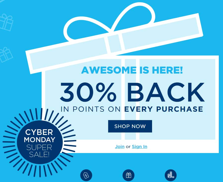 Shop Your Way: 30% back on most purchases from Walmart, Target, Best Buy, Home Depot, Staples & More