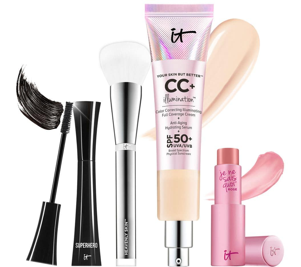 IT Cosmetics Collection - including 2.53oz CC+ Cream foundation - $63 shipped at QVC