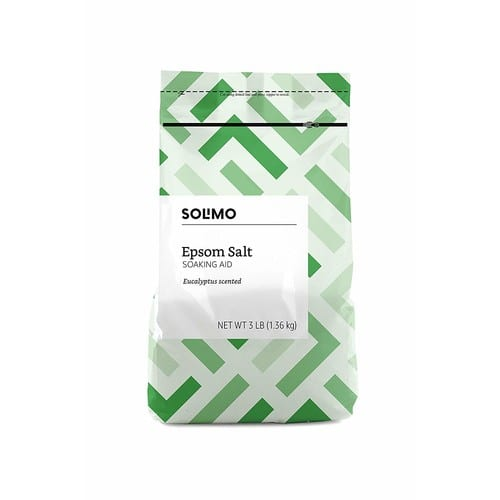 Solimo Epson Salt Soaking Aid 3LB bag $2.47 with S&S