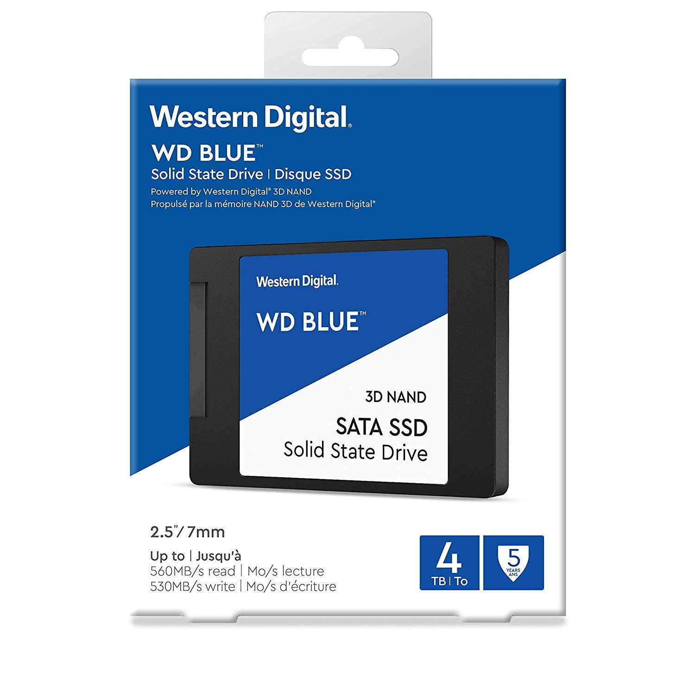 WD Blue 4tb SSD $385 @ Amazon - Slickdeals net