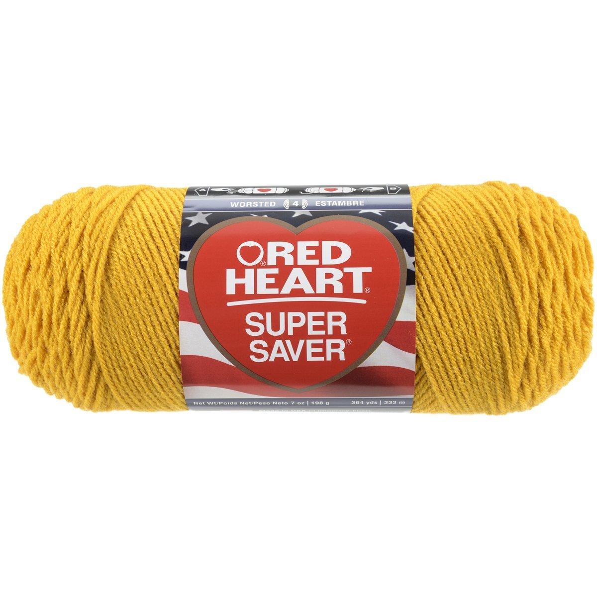 Red Heart Super Saver Economy Yarn, Cherry Red [Cherry Red] $2.06 @amazon