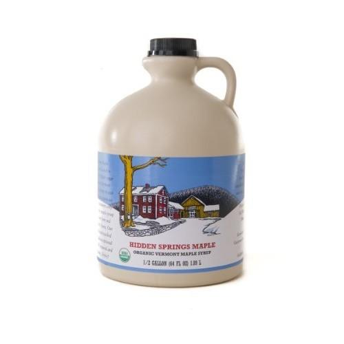 Half Gallon Organic Vermont A Maple Syrup, 64 Ounce S&S $28.49 + FS @amazon