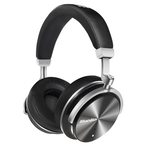 Bluedio T4 (Turbine) Active Noise Cancelling Over-ear Swiveling Wireless Bluetooth Headphones with Mic $28.97 @amazon