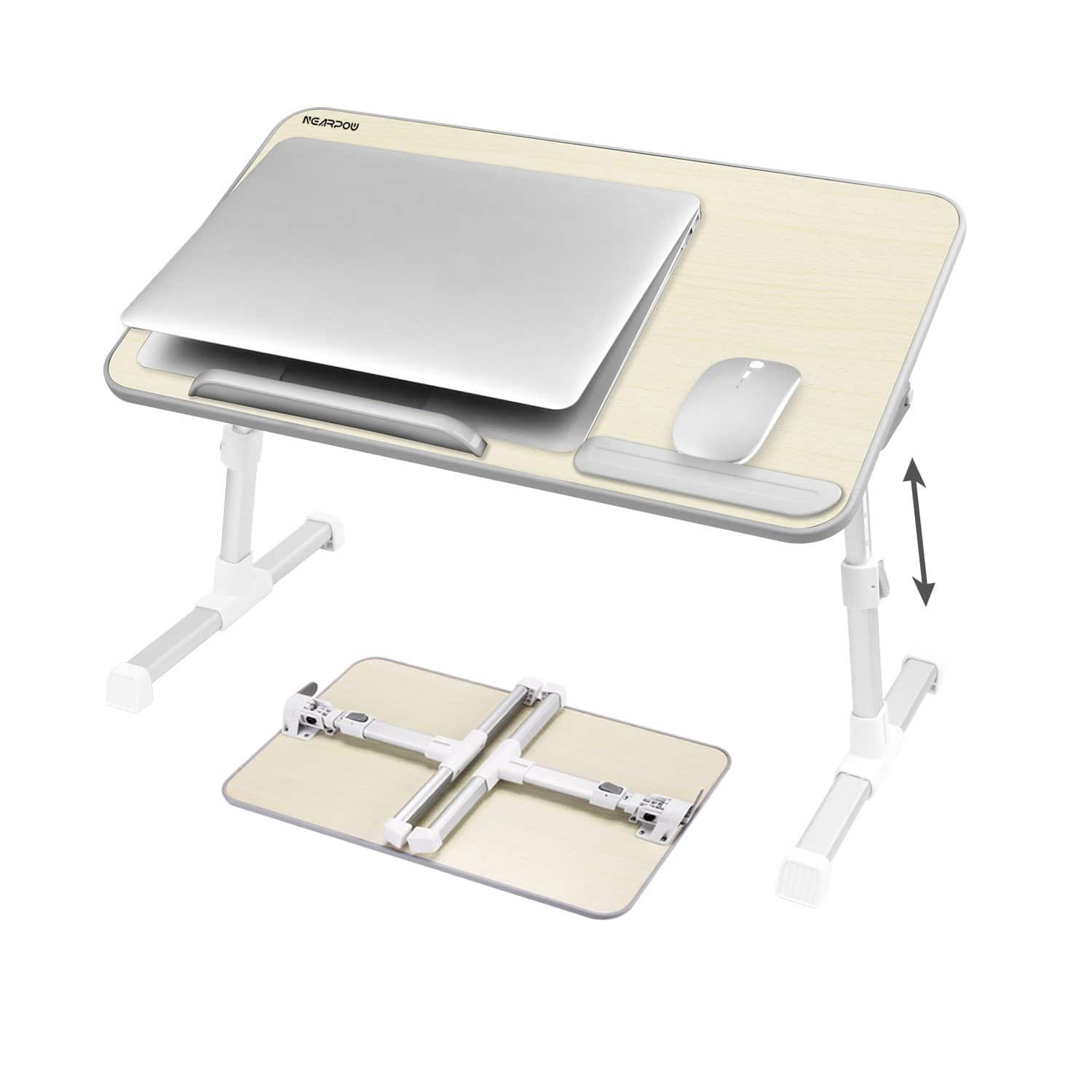 Nearpow Adjustable Laptop Bed Stand $25.99 and free shipping@amazon