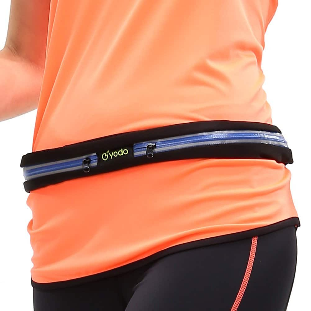 Yodo Sports Running Waist Pack,Outdoor Sweatproof Reflective Runner Belt $3.26 @amazon