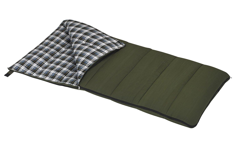 Wenzel Conquest Sleeping Bag [Green] $22 @amazon