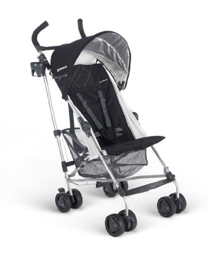 UPPAbaby G-LITE Stroller, Jake (Black) $125.99 FS@amazon